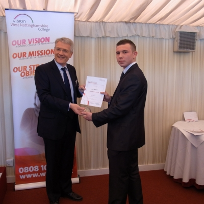 Apprentice honoured at House of Lords reception