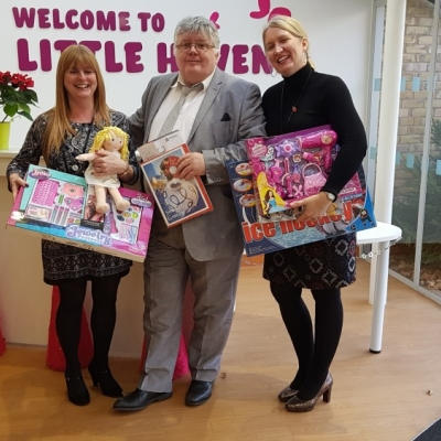 Hospice toy donations was another success - fourth year running!