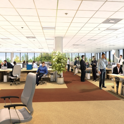 Using technology to create a greener workplace