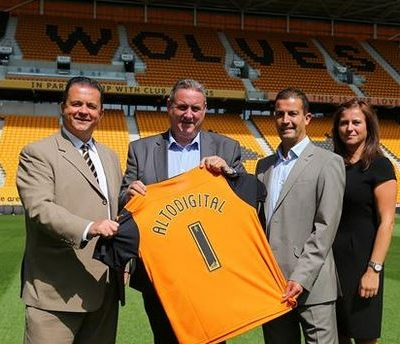 Sponsorship deal for stand at Wolves' Molineux Stadium announced