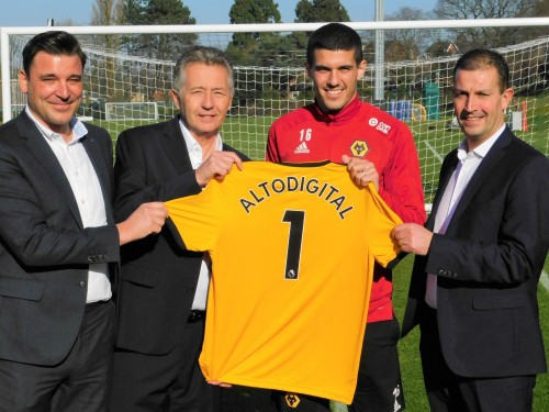 Image: Altodigital extends contract with Wolves FC