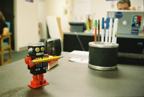 Image: How robots will make their mark in the office