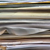 Image: Document management solutions: Cutting out paper