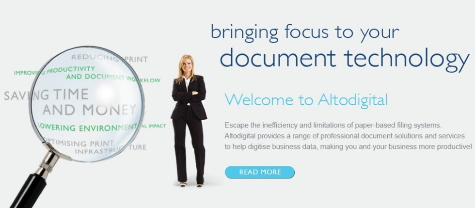 Bringing focus to your document technology. Click to find out more.