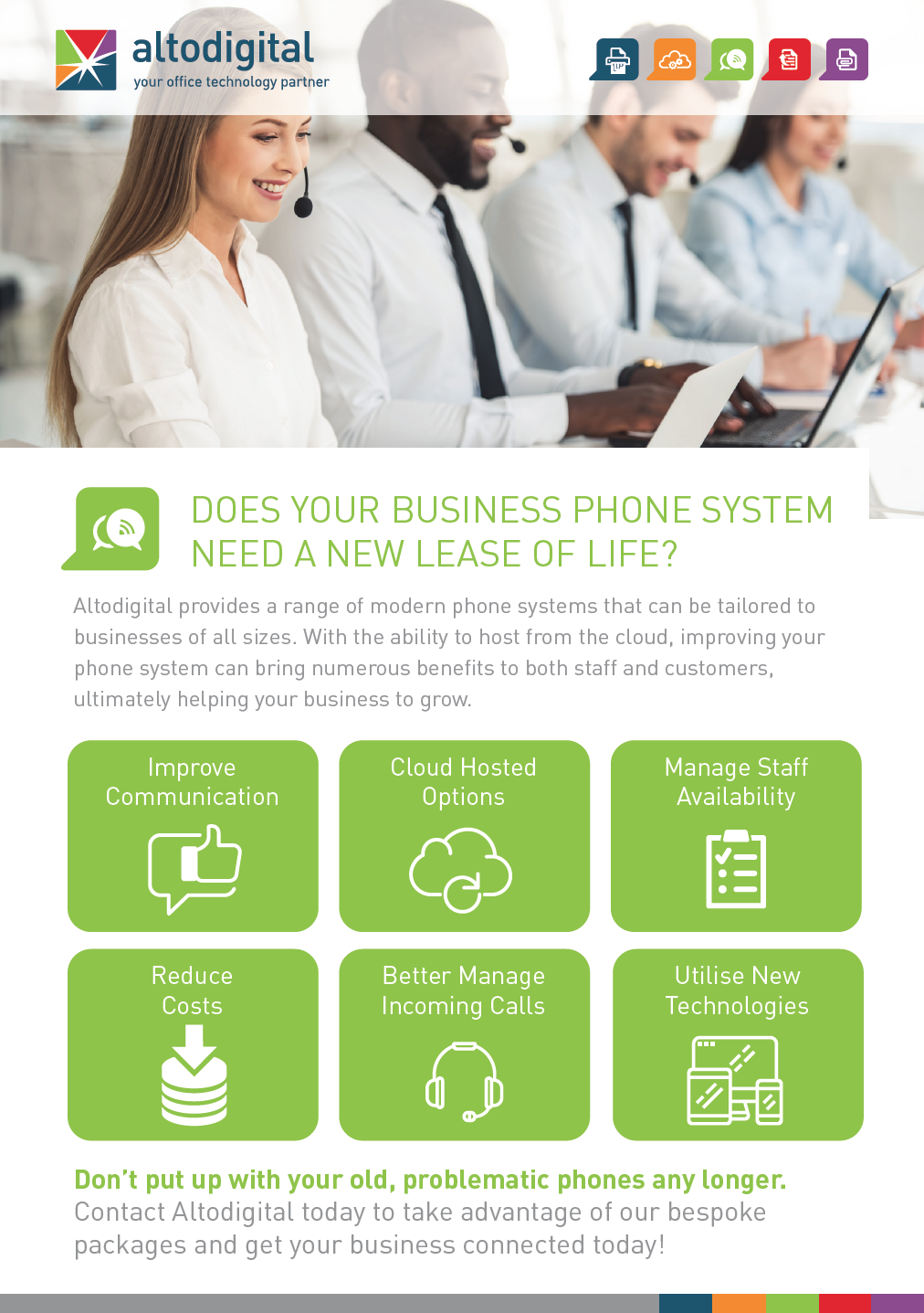 What is Cloud based telephone system?