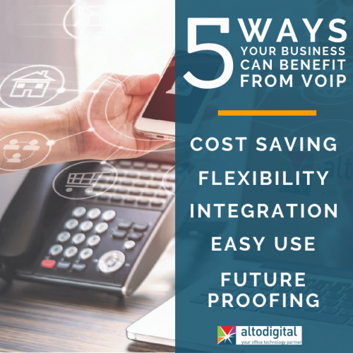 5 Ways Your Business Can Benefit from VoIP