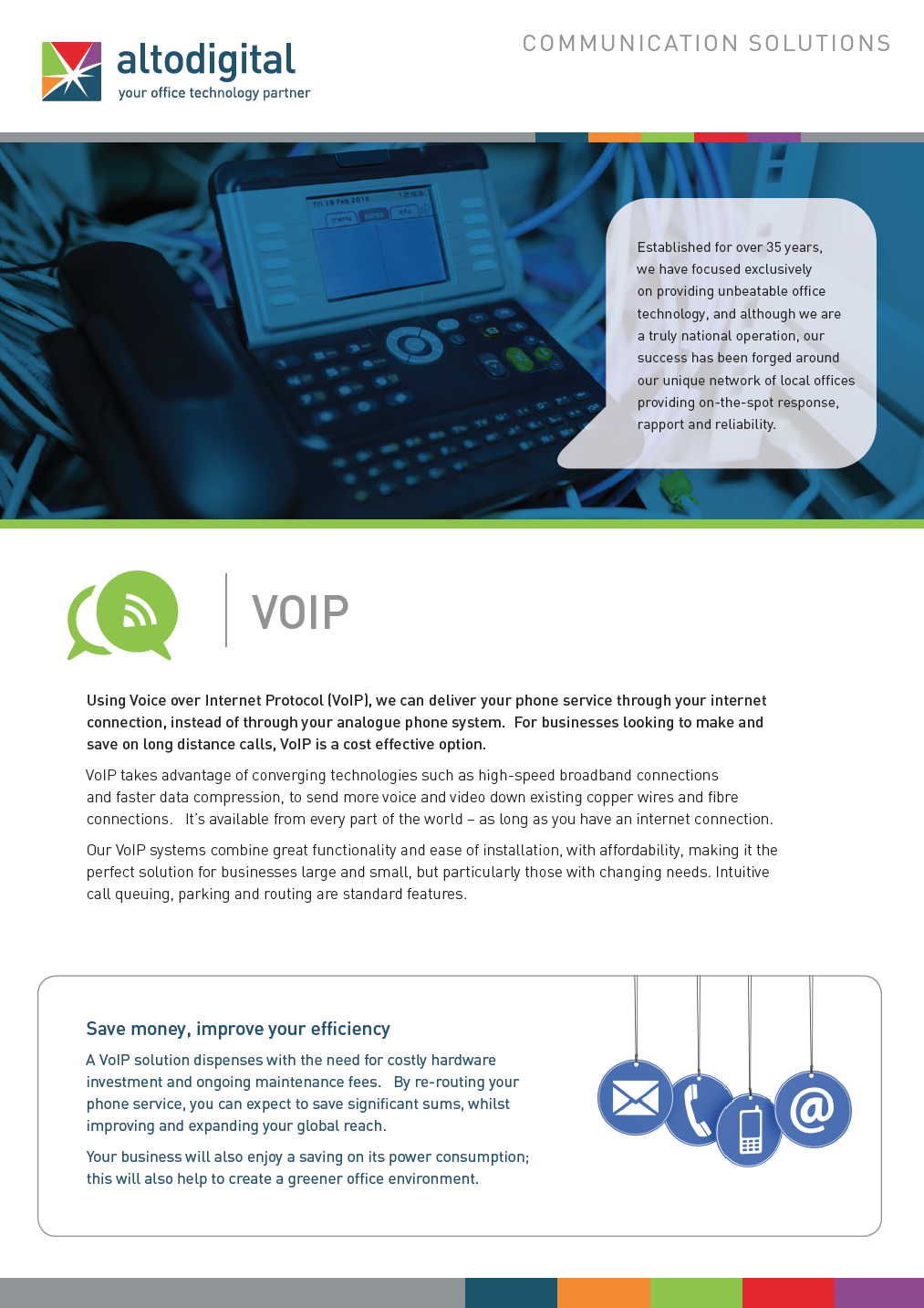 An introduction to latest in VOIP